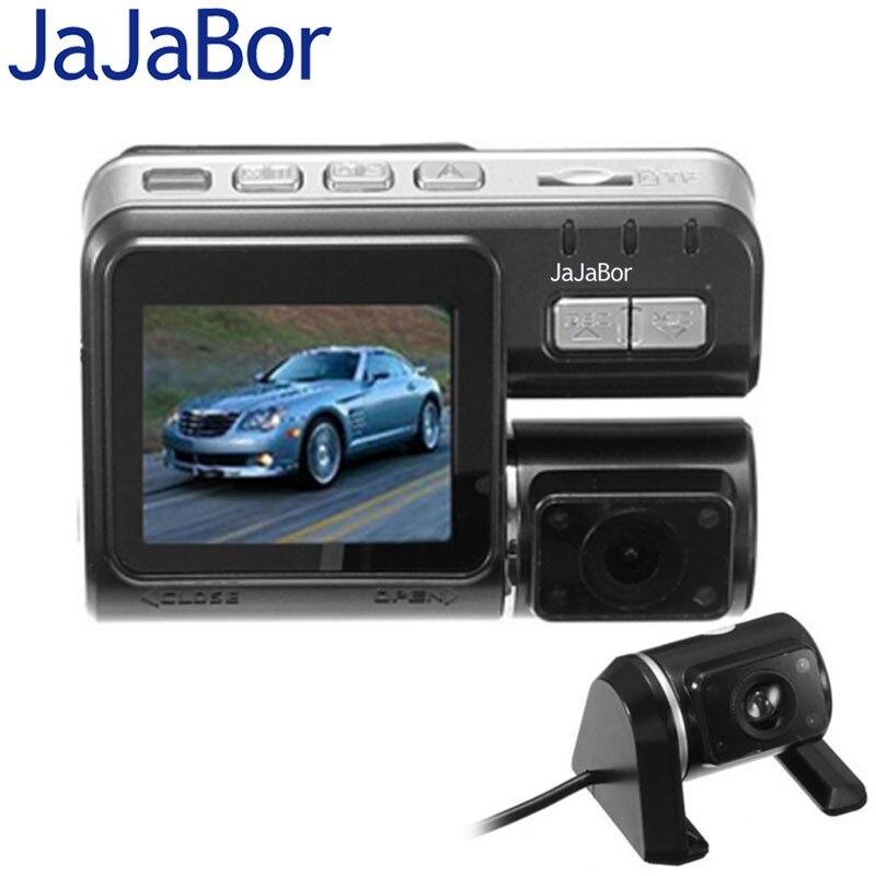 """imágenes para JaJaBor i1000 Lente Dual Del Coche DVR de Doble Cámara de Allwinner Completo HD 1080 P 2.0 """"LCD 1200 Mg Dash Cam Vista Posterior de La Cámara de Vídeo grabadora"""
