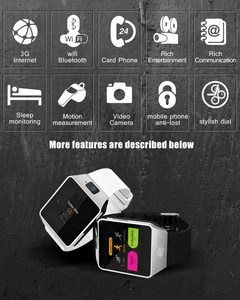 Image 5 - 3G WIFI Smart Watch 4GB ROM Sport Facebook/Twitter/WhatsApp Internet QW09 Bluetooth Smartwatch 2.0 Camera Pedometer SIM Card