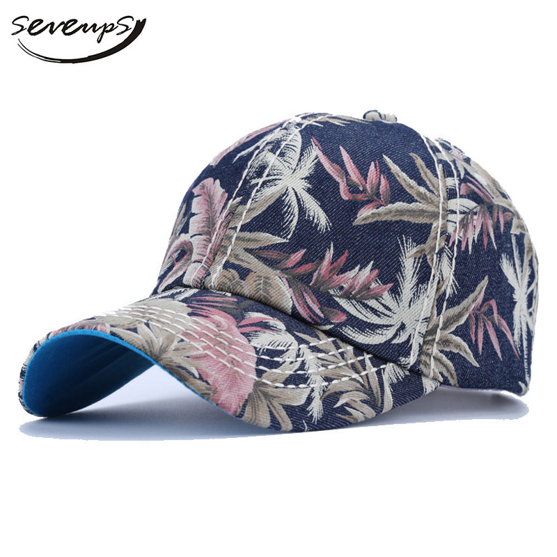 Seveups Aloha Hat Cap Women Sea Hawaii Baseball Caps For Men Palm Printed Hat With Print brand bonnet beanies knitted winter hat caps skullies winter hats for women men beanie warm baggy cap wool gorros touca hat 2017