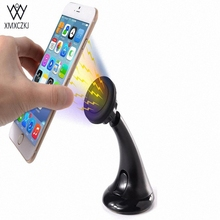 Universal Car phone Holder Magnetic Windshield Mount and Dashboard Mount Holder for Cell Phones With Flexible Long Adjustable