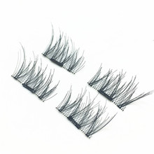 a2ef12fa892 OutTop Top 4pcs 1 Pair Magnetic False EyeLashes 3D Reusable Eyelashes  Extension