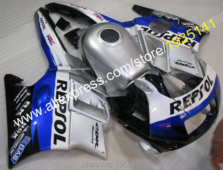 Горячие продаж,для Honda CBR600F3 1995-1996 ЦБ РФ 600 F3 95-96 CBR600 F3 в Репсоль Кузов АБС мотоциклов Обтекатели (литье под давлением)