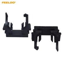 FEELDO 10 шт. автомобиль H1 светодиодный лампы основание держателя переходника для Ford Focus Fiesta Mondeo H1 галогенные обновление до светодиодный разъем#5542