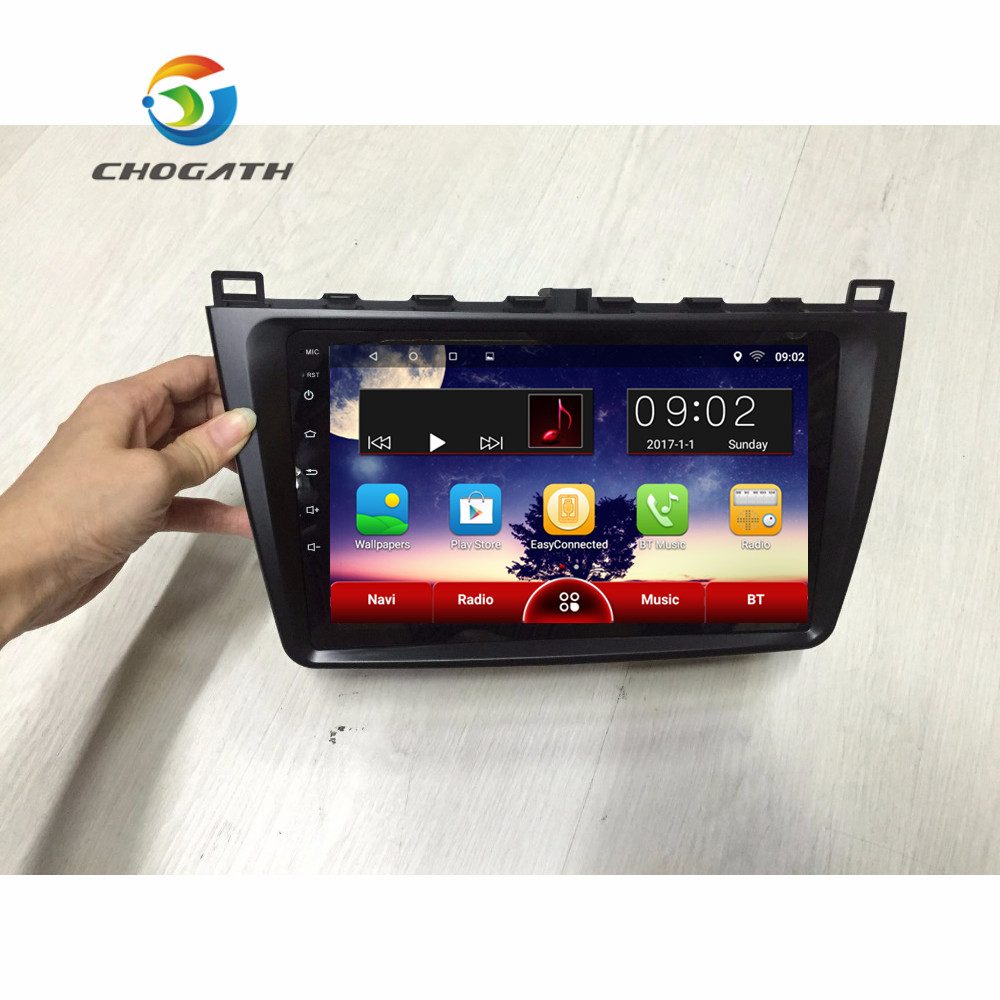 CHOGATH 2 Din Android 6 1 CAR GPS For Mazda 6 Ruiwing 2010 2014 Autoradio Navigation