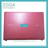 Genuine Laptop LCD Rear Lid Palmrest For ACER AS 4743 4750 4743G 4750G Pink Top Cover