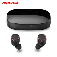 True TS007 Wireless Mini Headphones Sports Earphone 3D Stereo Business Bluetooth Headset And Power Bank With