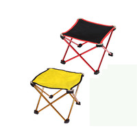New Outdoor Portable Folding Camping Hiking Fishing Picnic BBQ Stool Chair Supplies Outdoor Sports Fishing Accessories