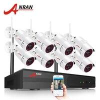 ANRAN 4CH Wireless CCTV System 12 LCD Wifi NVR 720P HD H 264 Outdoor IR Night