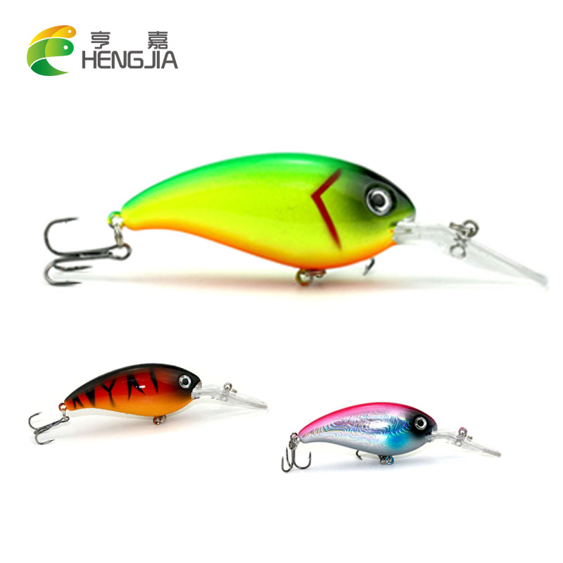 HENGJIA 1PC Crankbait fishing Wobblers 14g 10cm artificial Crank Bait Bass Fishing Lure pike trolling pesca carp Fishing Tackle 1pcs 12cm 14g big wobbler fishing lures sea trolling minnow artificial bait carp peche crankbait pesca jerkbait ye 37