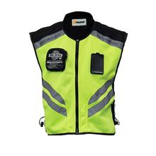 Riding Tribe Motorcycle Vest Motorbike Motocross Jacket Reflective Safety Motorbike Jacket Sleeveless Sports Racing Moto Vest цена и фото
