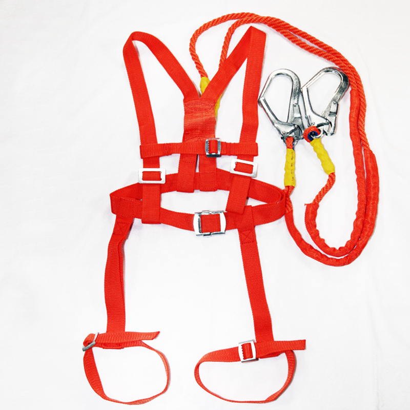 Safety Belt Five points Double hook Safety Harness For Labor Working Construction Worker Aerial work Protective