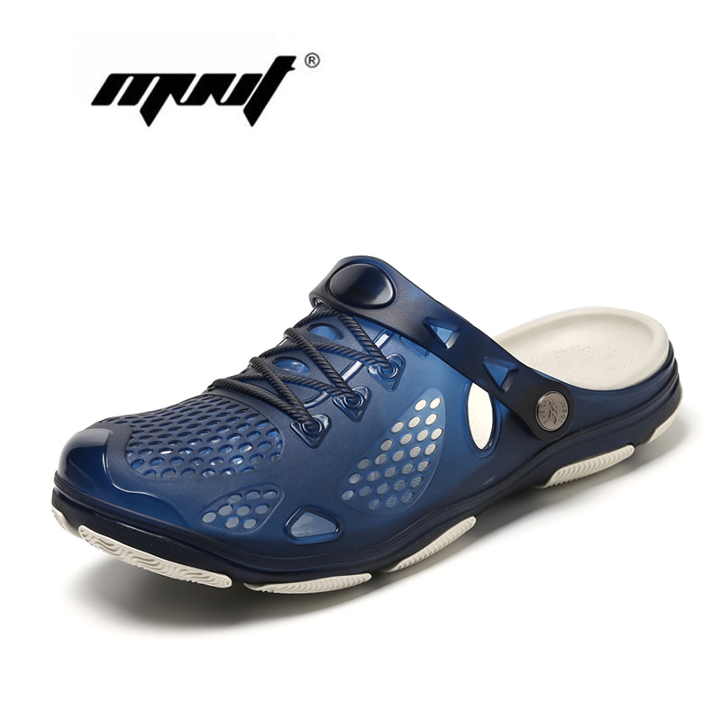 Man ornamental owls over blue Slippers for Mens Sole Highly Breathable Shoes