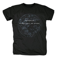 Bloodhoof Coldplay A Sky Full of Stars cover Britpop Gothic Rock music band Alternative T Shirt Asian Size