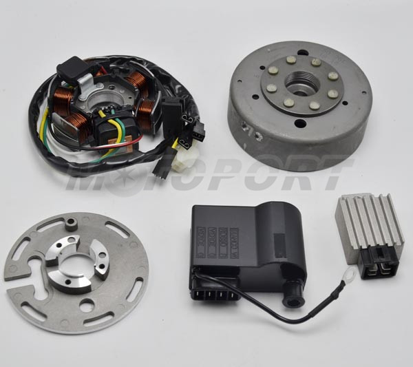 Nieuw Flywheel Set For Motor Zundapp with DUCATI ignition-in Motorbike CP-22