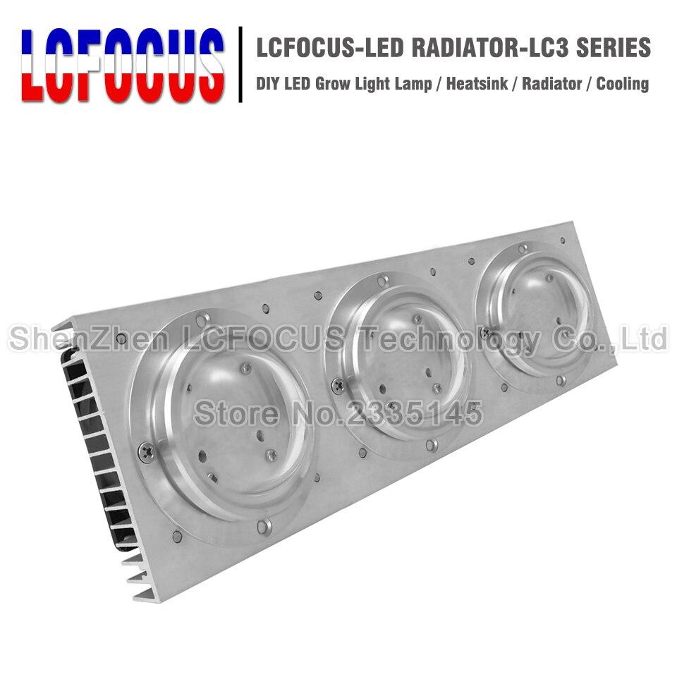 50W 100W 200W 300W LED Aluminum Heatsink Lamp Radiators With Fan Heat Sink Radiator Cooling For 20W 30W 50W 100W Light Beads