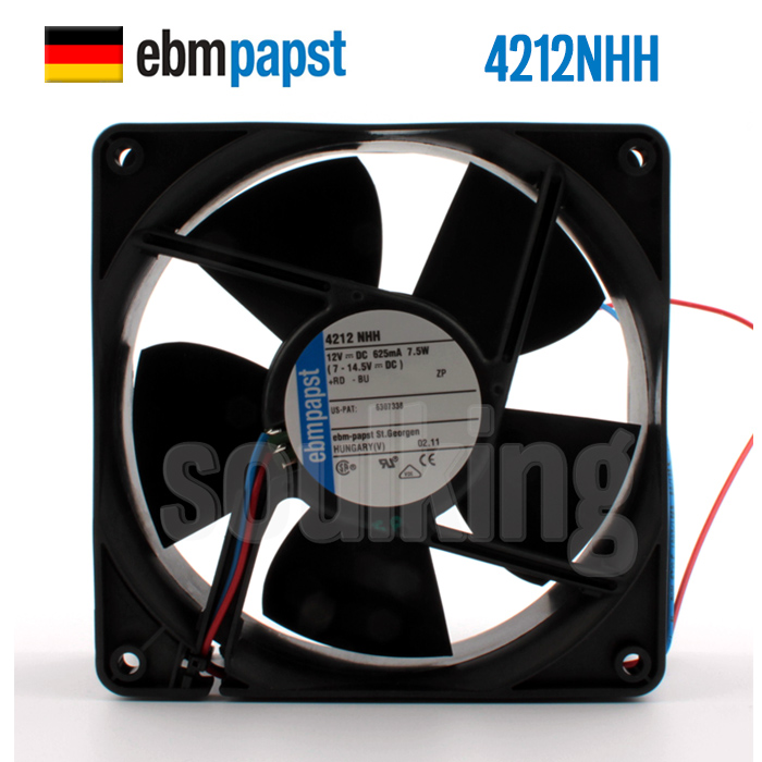PAPST TYP 4656 Z 12CM 230V 19W Full Metal Heat Resistant Cooling Fan