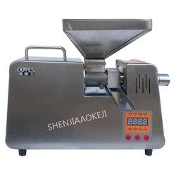 Maszyna do tłoczenia oleju automatyczne małych i średnich inteligentny ciepłą i zimną peanut ze stali nierdzewnej  dzięki czemu oleju jadalnego 1 PC
