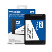 Disque SSD interne bleu numérique occidental 250 go 500 go 1 to-SATA 6 Gbit/s 2.5 WD Blue 3D NAND SATA WDS500G2B0A