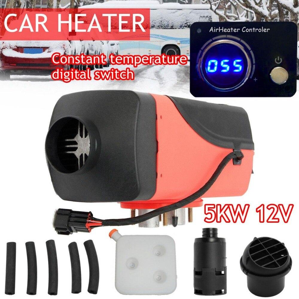 12 В 5000 Вт термостатический цифровой коммутатор воздуха дизель-нагреватель для грузовых автомобилей лодки мотор-дома Air парковка подогреват...