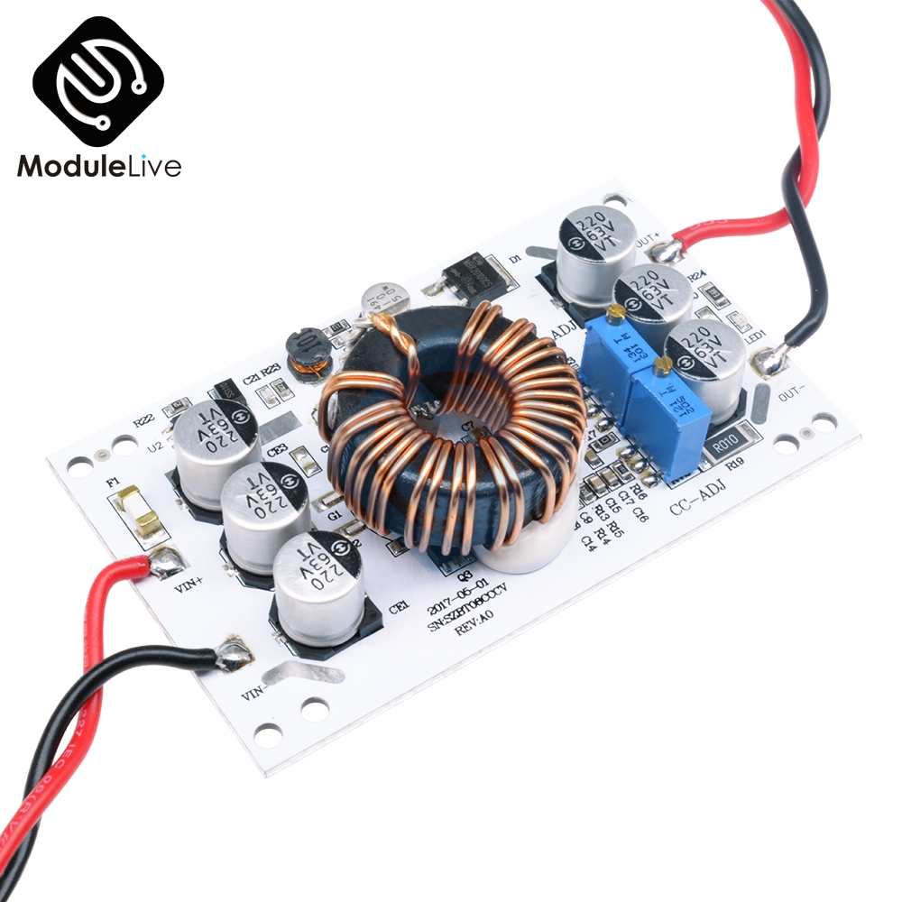 <font><b>600W</b></font> Aluminum Plate <font><b>DC</b></font>-<font><b>DC</b></font> Boost Converter Adjustable <font><b>10A</b></font> <font><b>Step</b></font> <font><b>Up</b></font> Constant Current Power Supply Module Led Driver For Arduino image