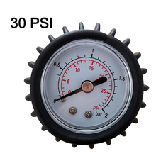 30 PSI pressure gauge air thermometer of inflatable boat kayak test air valve measure SUP stand up paddle board surfing A09038 цена
