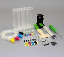 INK WAY Universal DIY CISS kits 4colors CISS ink tank with accessories for HP 650 662 701 702 802 703 704 816 817 818 850 851(China)