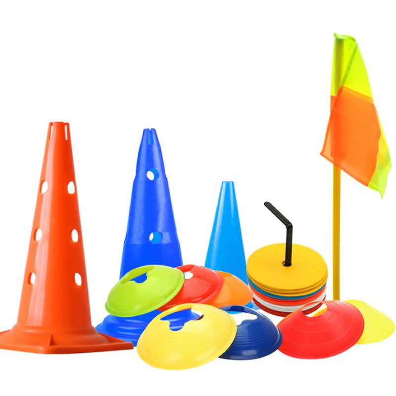 Free Shipping Football Training Plates Obstacles 20pcs/lot Environmental Plastic