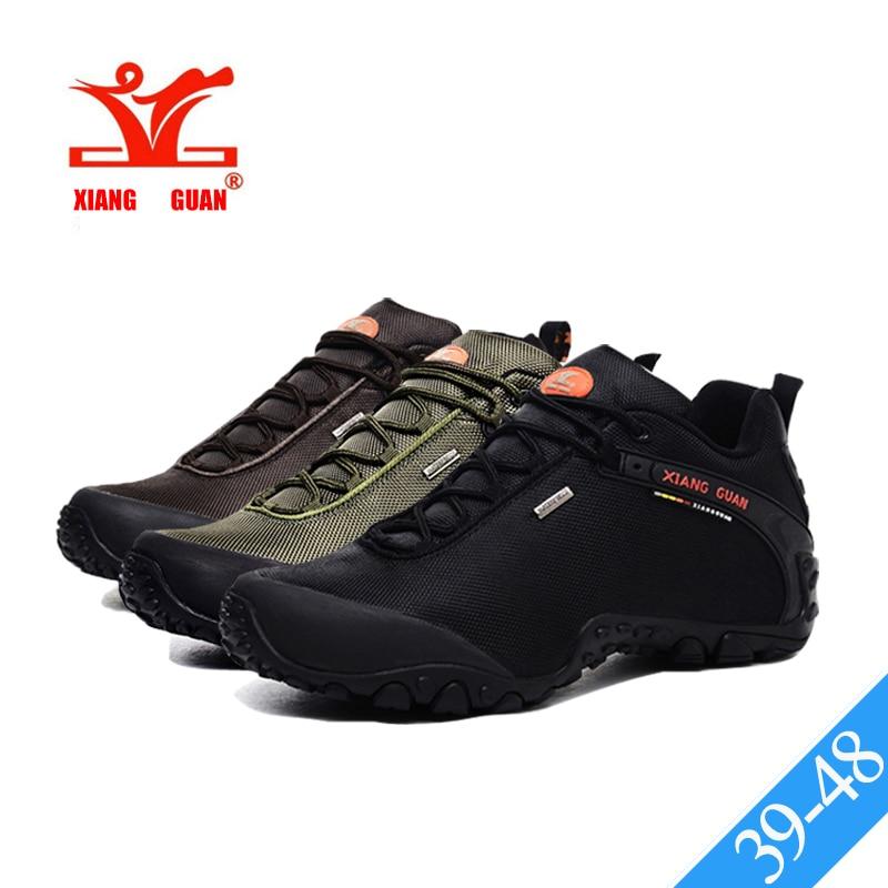 XIANG GUAN mejores hombres zapatos de senderismo impermeable