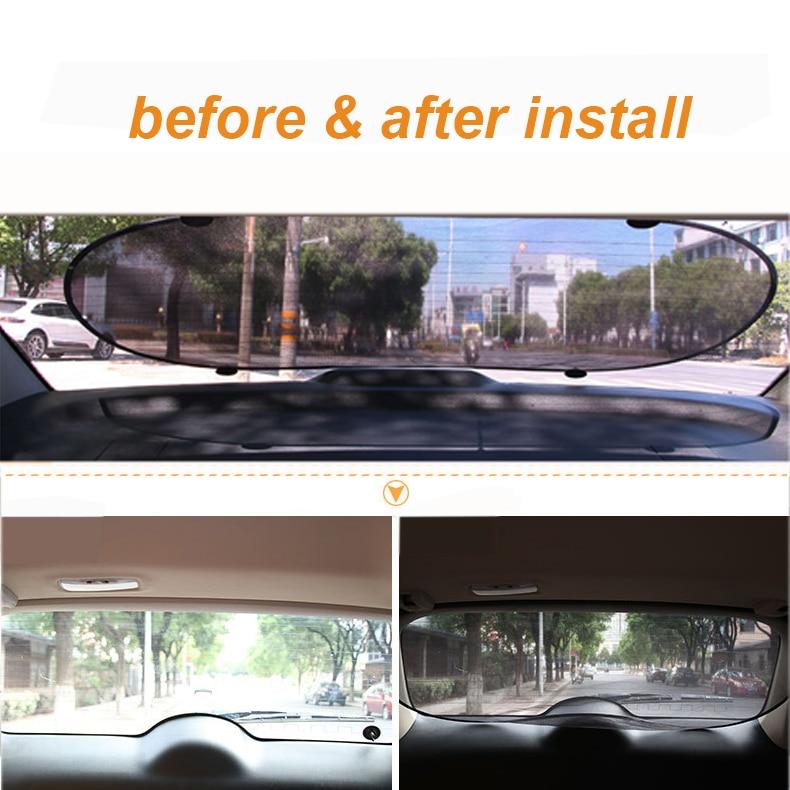 5Pcs//Set Car Side Rear Window Sunshade Sun Shade Mesh Cover Visor-Shield Screen