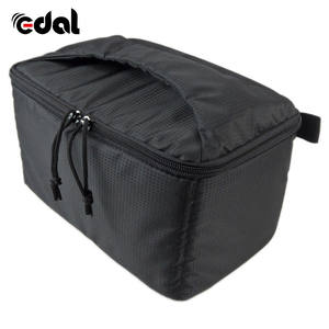 EDAL Water-resistant DSLR Padded insert Case Waterproof Zipper Removable Partition