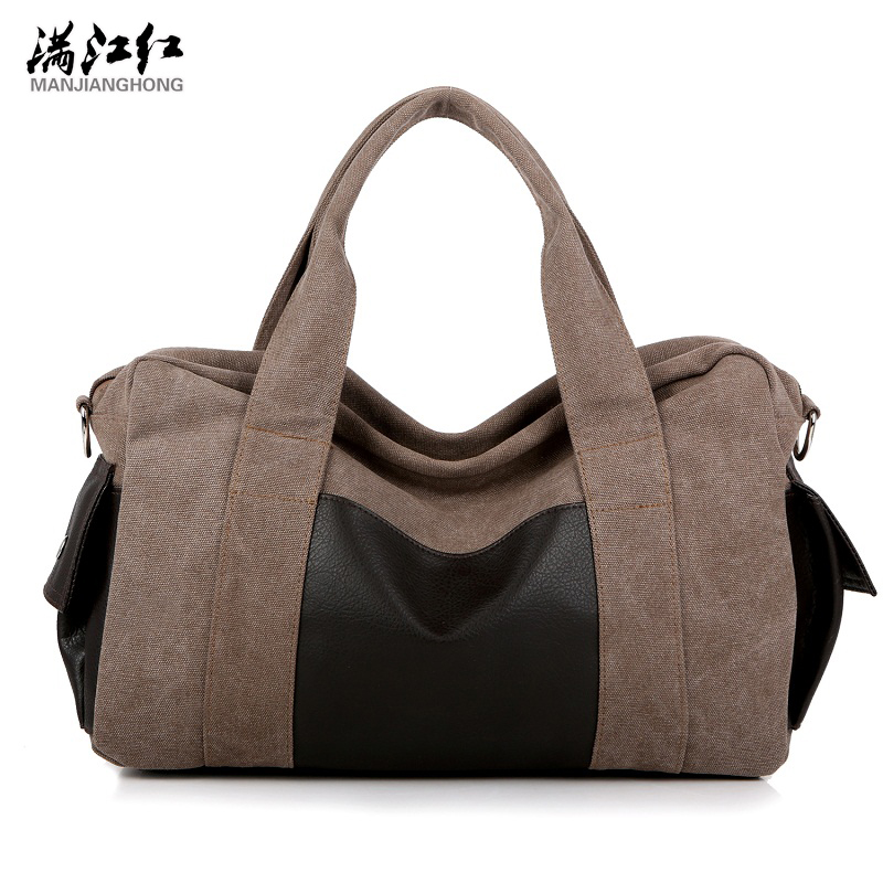New High Quality Canvas Men Handbag Bags Retro Casual Men Travel Bag Large Men Messenger Bags