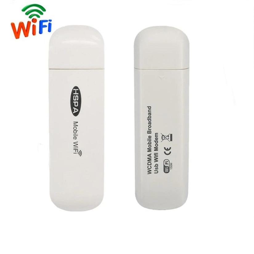 3G USB Modem Mobile Wifi Hotspot Broadband Wireless Router Dongle Wi-fi Mini Stick With SIM Card Slot