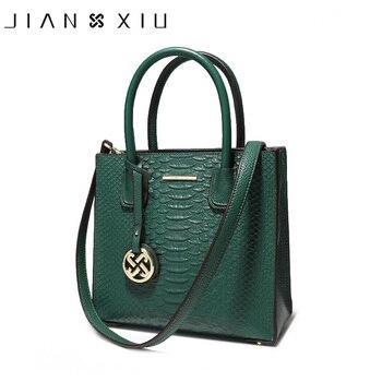 9eb30eeb4 JIANXIU de moda bolso de cuero genuino cuero de lujo bolsos de las mujeres  bolsos de diseñador de mujer bolsa de hombro de nuevo Bolso pequeño Color a  3