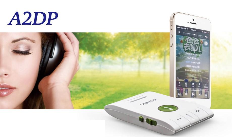 Bluetooth Zestaw Głośnomówiący Bluetooth Zestaw Głośnomówiący Zestaw Samochodowy z Ładowarką Samochodową A2DP Bezprzewodowy telefon Auto obsługa głosowa Połączeń ID raport 5