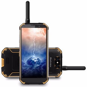 Image 3 - Walkie Talkie Blackview BV9500 Pro Mobile Phone 4G Android 8.1 6GB+128GB Smartphone 10000mAh Battery NFC Wireless Charge Phone
