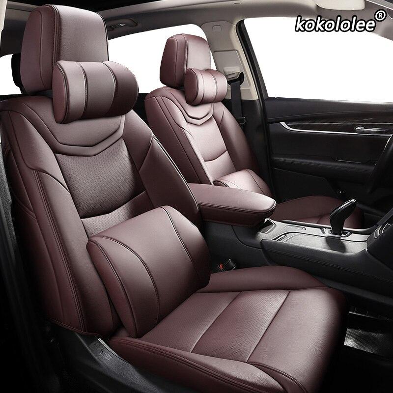 Kokoleee кожаный чехол для автомобильного сиденья Haima Freema Family M8 3 V70 F7 S6 M3 M6 Чехлы для автомобильных сидений