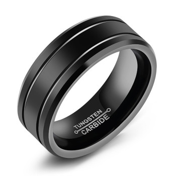 Tungsten Mens Rings: Wolfram