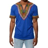 Free Shipping 2017 African Dashiki Traditional Dashiki Print Man Shirt Shirt T Shirt Summer Man