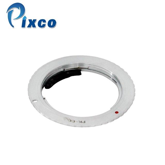 Pixco AF CONFIRM Adapter Vestito per Pentax K Mount PK Lens per vestito per Canon (D) macchina Fotografica REFLEX, Per Pentax Per EOS