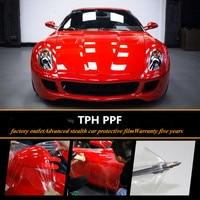 Sunice car styling TPH Rhino Skin Car Bumper Hood Paint Protection Film styling Vinyl Clear Transparence Film 1.52m x 2m