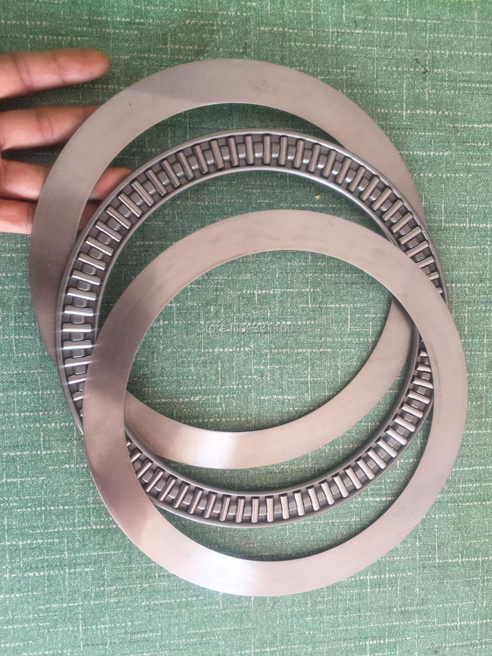Thrust Needle Roller Bearing With Two Washers  AXK190235  SIZE:ID=190mm, OD= 235mm, Thickness =9MM .190*235*9 MM