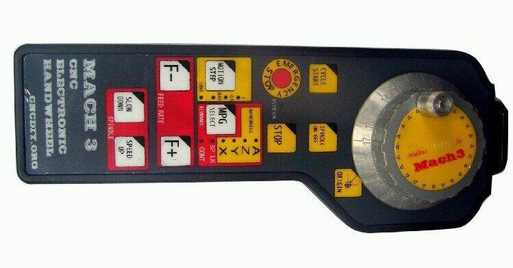 MACH3 CNC USB Electronic Handwheel Manual Controller MODBUS MPG for CNC machine engraving machine remote control handwheel mach3 mpg usb wireless handwheel for cnc 3 4 axis controller milling machine a545a