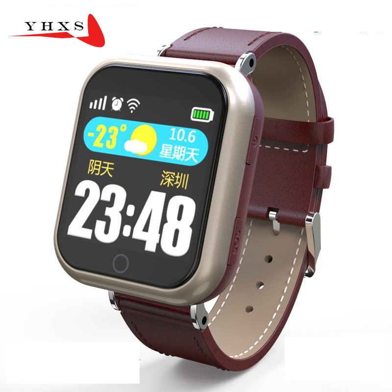 Smart GPS LBS Tracker Watch for Elderly People Child Wristwatch with SOS Call Safe Anti Lost Remote Heart Rate Monitoring Watch wireless service call bell system popular in restaurant ce passed 433 92mhz full equipment watch pager 1 watch 7 call button