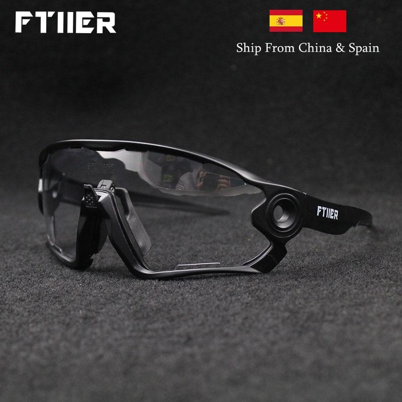 2019 Summer Sunglasses Photochromic Cycling Glasses Sports UV400 Polarized MTB Bike Bicycle Riding TR90 Outdoor Sport Eyewear