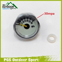 Pcp AirForce Condor Luminous High Pressure 30Mpa Gauge With M10 *1 Copper Threads  free shiping