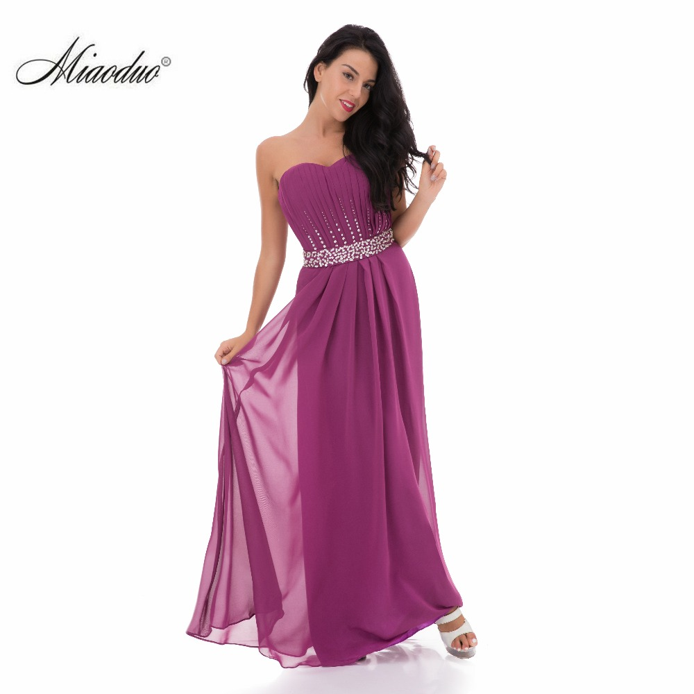Purple Long Bridesmaid Dresses Strapless Dress For Wedding Party Woman Bridemaids Custom Made Plus Size In From