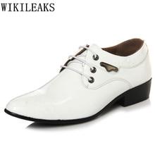 patent leather wedding dress shoes men erkek ayakkabi oxford shoes for men designer version luxury brand formal shoes brogues