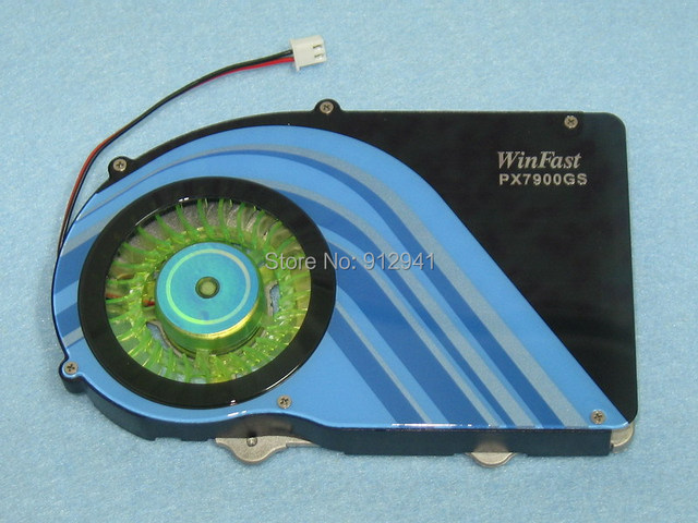 53mm X 4 Mounting Holes 2Wire 2Pin VGA Graphics Video Card Heatsink Cooler Cooling Fan For WinFast 7800GS 7900GS 7950GT
