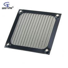 2 шт 8 см компьютерная сетка черный вентилятор кулер пылевой