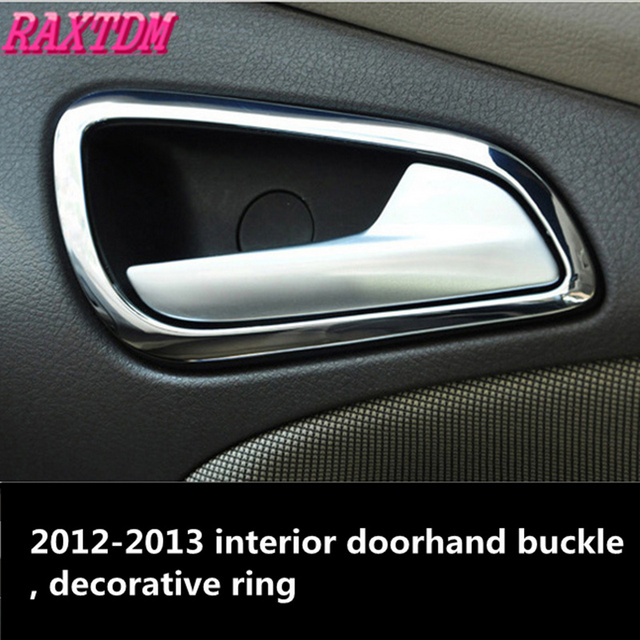 Car styling Car accessories For Ford Focus 3 MK3 2012 2013 Stainless ...